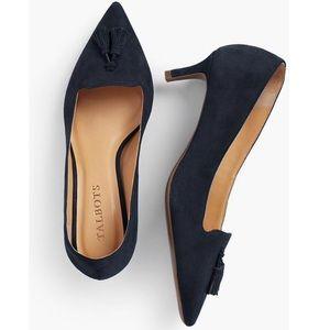 Talbots | Tassel kitten heels.